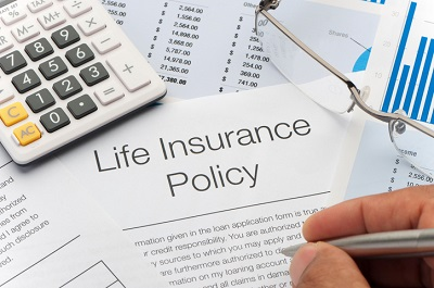 image of a life insurance policy