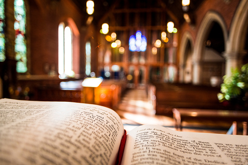 Church With Open Bible